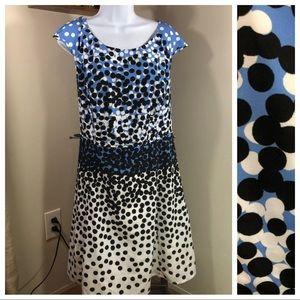 eShakti | Dot  A-Line Dress  20w